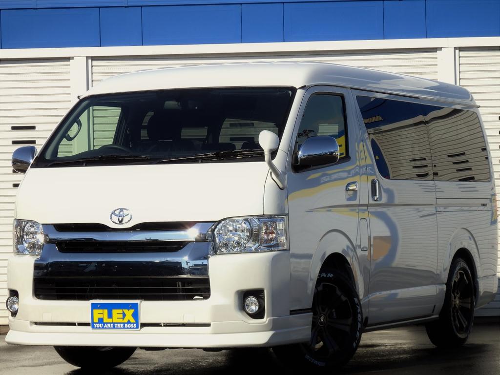 【Ver1/座席レイアウト変更】新車ハイエースワゴンGL 4WD家族で出かけよう!【全国陸送無料】