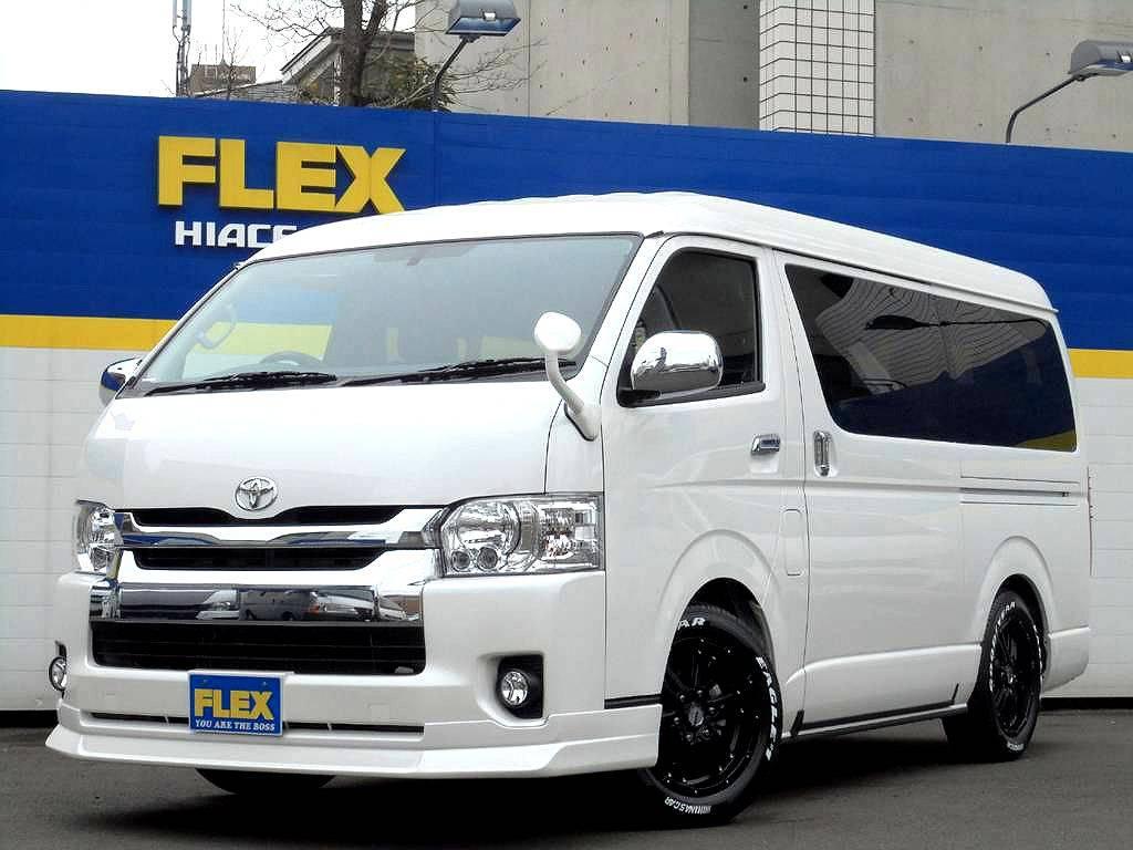 【FLEXシートアレンジCTセカンドREVOスライドシート】新車ハイエースワゴン4WD!VSC付!