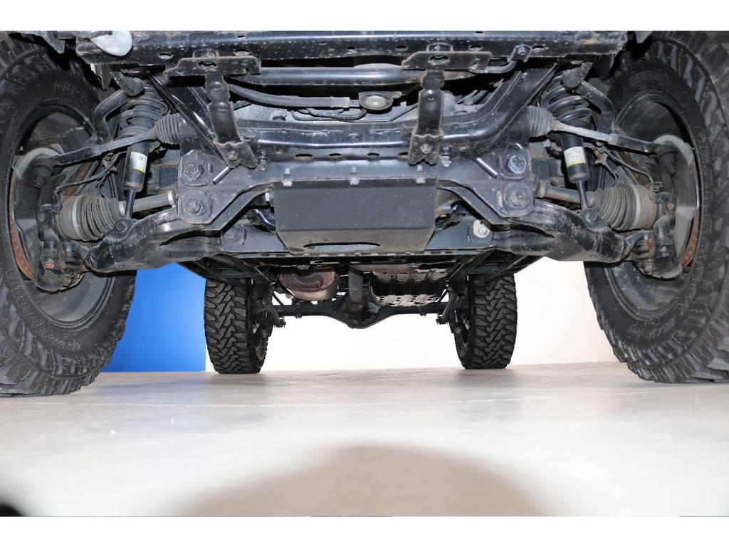 もちろん下回り防錆塗装も出来ます承ります☆ | トヨタ FJクルーザー 4.0 カラーパッケージ 4WD 2018yデモカー