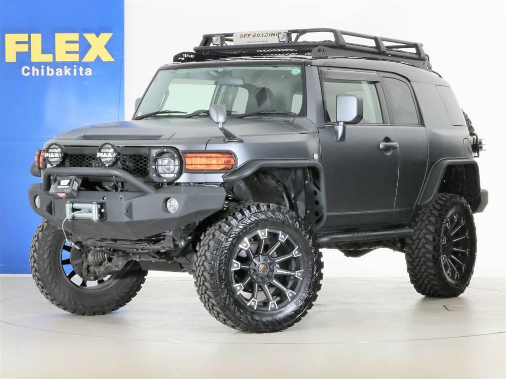 2018FLEXデモカーFJクルーザー☆ | トヨタ FJクルーザー 4.0 カラーパッケージ 4WD 2018yデモカー