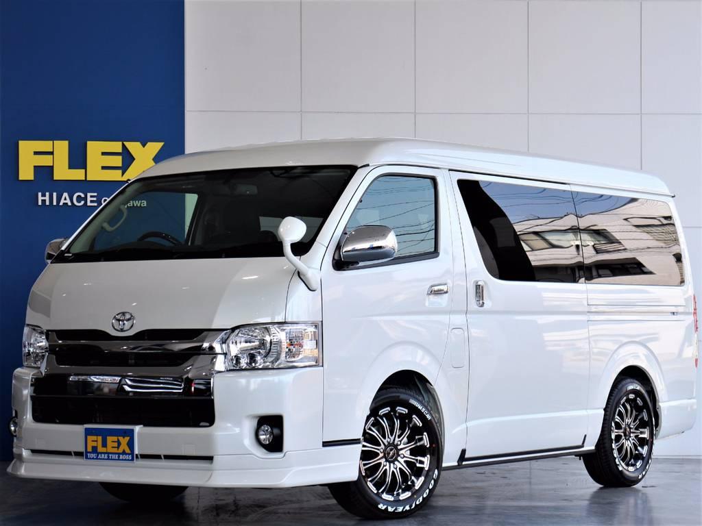 【新車ワゴンGL 4WD 】車中泊も可能!アレンジR1!専用フローリングフロア&テーブル&ベッドキット