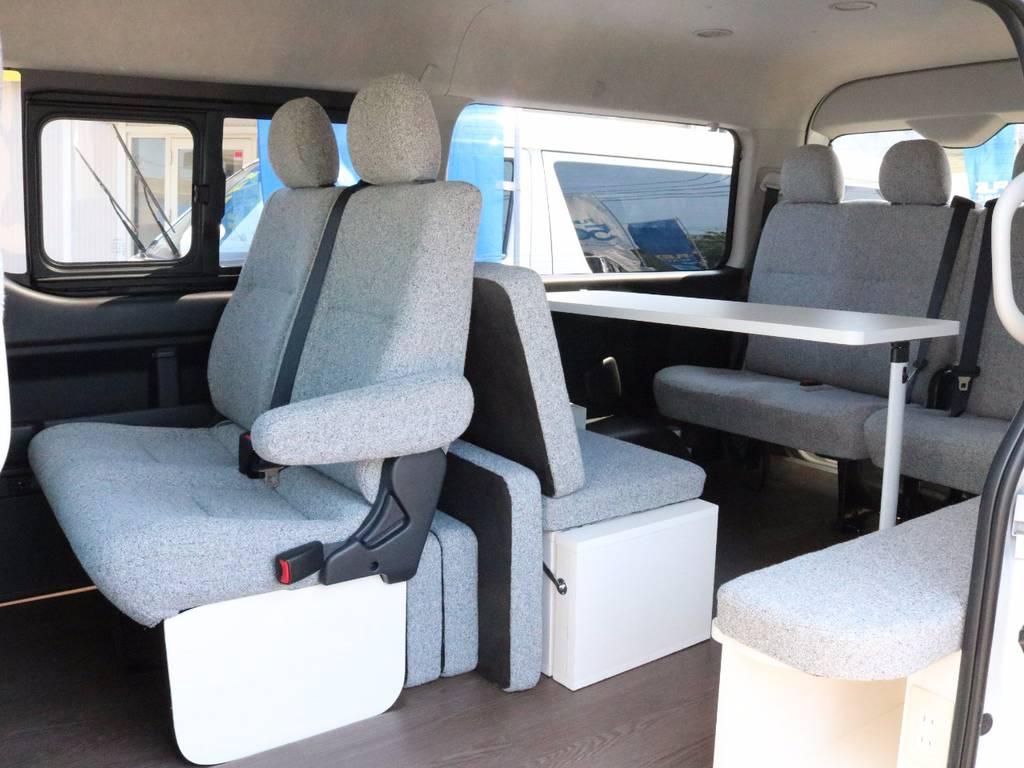 FLEXオリジナル内装架装 「持ち出せる部屋」 ROOMCAR02   トヨタ ハイエース 2.7 GL ロング ミドルルーフ 4WD ROOMCAR02