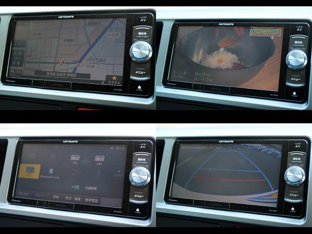カロッツェリアフルセグメモリーナビRW801装備!CD・DVD・Bluetooth対応♪ | トヨタ ハイエース 2.7 GL ロング ミドルルーフ 4WD ROOM CAR01