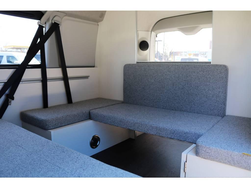 自分のお気に入りの空間を作り上げてください♪ | トヨタ ハイエース 2.7 GL ロング ミドルルーフ 4WD ROOM CAR01