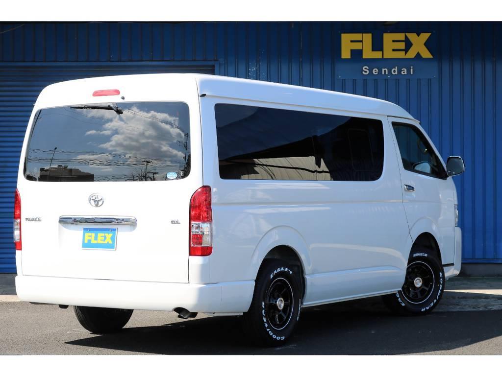 安心の新車保証付き(60ヶ月100,000km) | トヨタ ハイエース 2.7 GL ロング ミドルルーフ 4WD ROOM CAR01