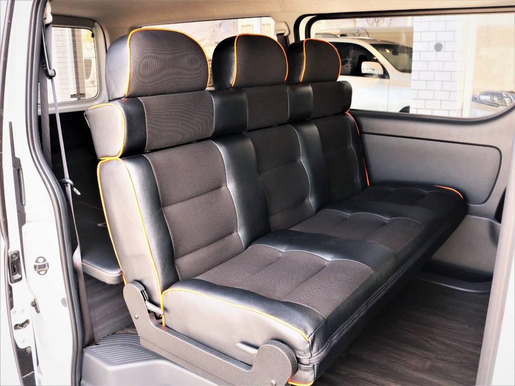 セカンドシート! | トヨタ ハイエースバン 3.0 スーパーGL ロング ディーゼルターボ 4WD VER8