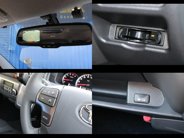 メーカーオプション多数装備!ETCも装備♪ | トヨタ ハイエースバン 3.0 スーパーGL ダークプライム ロングボディ ディーゼルターボ 4WD Ver8 小窓付