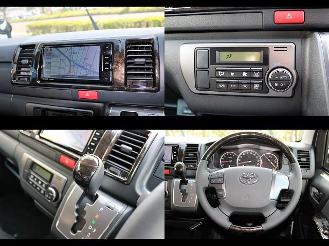 ダークプライム特別仕様装飾です♪ワンランク上の高級感です♪ | トヨタ ハイエースバン 3.0 スーパーGL ダークプライム ロングボディ ディーゼルターボ 4WD Ver8 小窓付
