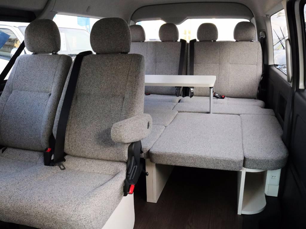 オシャレな室内空間♪ファミリーに大人気のシリーズです! | トヨタ ハイエース 2.7 GL ロング ミドルルーフ 4WD ROOM CAR 02