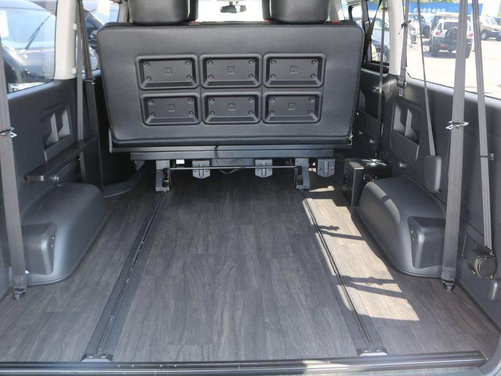 座席位置自由自在で大きな荷物も積めますよ!! | トヨタ ハイエース 2.7 GL ロング ミドルルーフ アレンジST さいたま中央店特選車