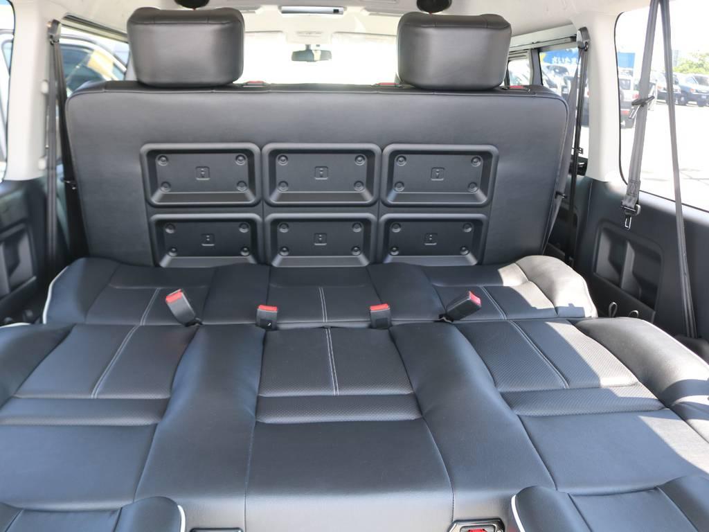 スライドレール完備で座席位置自由自在!! | トヨタ ハイエース 2.7 GL ロング ミドルルーフ アレンジST さいたま中央店特選車