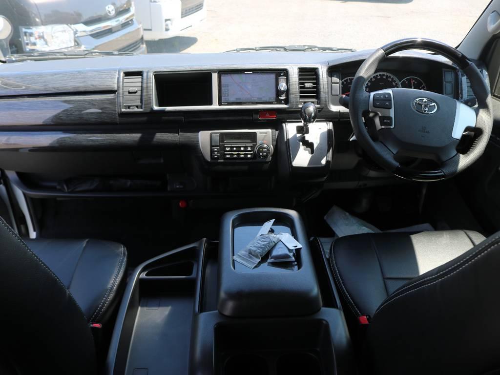 内装インテリアパネルでドレスアップ♪ | トヨタ ハイエース 2.7 GL ロング ミドルルーフ アレンジST さいたま中央店特選車