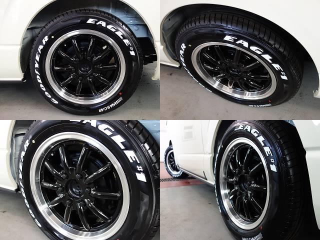 ESSEX製ENCB17インチアルミ装着済み!! | トヨタ ハイエース 2.7 GL ロング ミドルルーフ 4WD