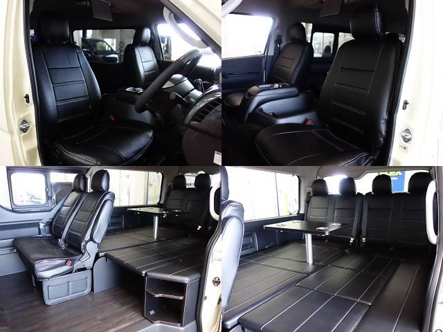 ファミリーに好評のR1シートアレンジ装着済み!! | トヨタ ハイエース 2.7 GL ロング ミドルルーフ 4WD