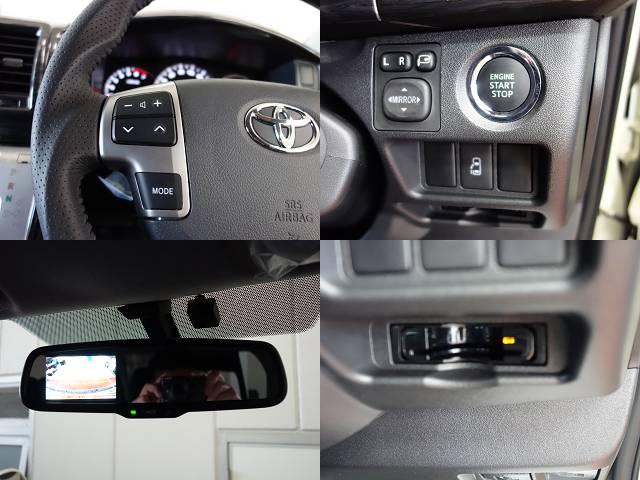メーカーオプションも多数装備!! | トヨタ ハイエース 2.7 GL ロング ミドルルーフ 4WD