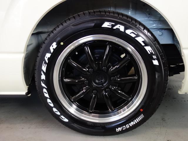 車検対応17インチナスカータイヤ装着済み!! | トヨタ ハイエース 2.7 GL ロング ミドルルーフ 4WD