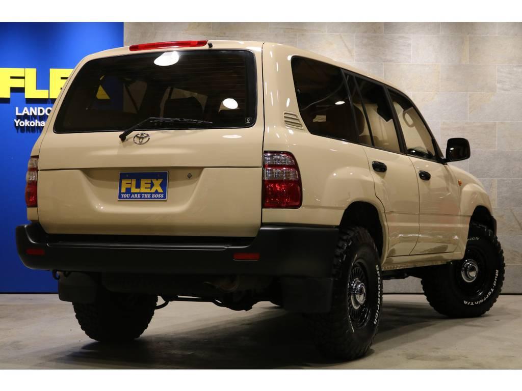 フルセグ地デジチューナーウッドコンビステア&シフトノブ!新品DEANカリフォルニア16インチAW&BFグッドリッジ255MTタイヤ! | トヨタ ランドクルーザー100 4.7 VXリミテッド 4WD