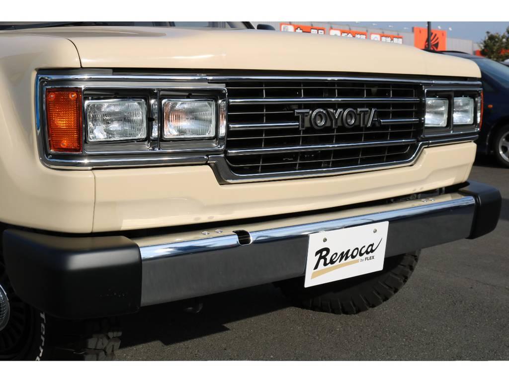ランクル60の角目フェイスをイメージした、フロントマスクに換装! | トヨタ ランドクルーザー100 4.7 VXリミテッド 4WD