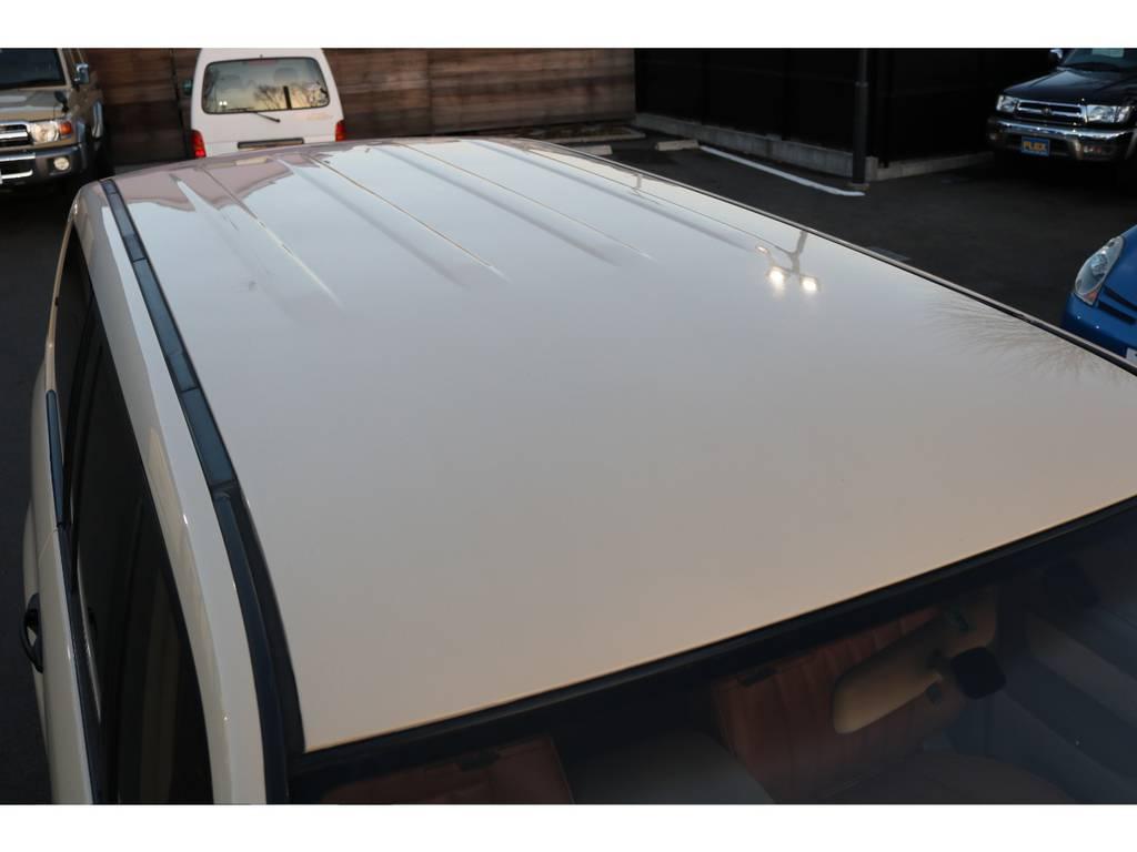 屋根にも凹みなど御座いません! | トヨタ ランドクルーザー100 4.7 VXリミテッド 4WD