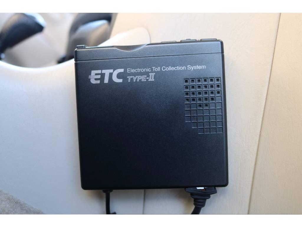 ETC車載器装備で、高速道路も楽々通行! | トヨタ ランドクルーザー100 4.7 VXリミテッド 4WD