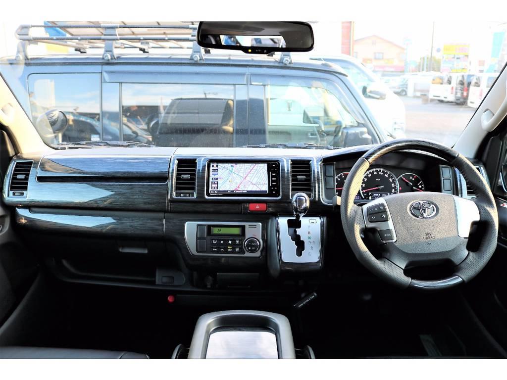 内外装ともにカスタム済みのお買い得な1台です! | トヨタ ハイエースバン 2.0 スーパーGL ロング ver.4 STD