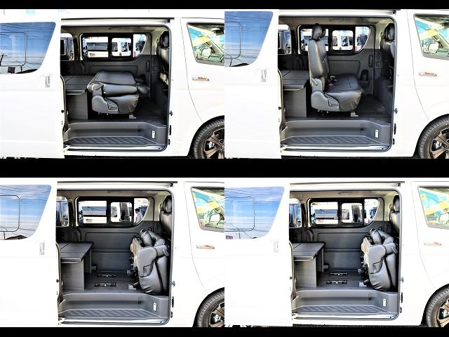 たくさんの荷物を乗せられるだけでなく、乗せやすさにまでこだわったデザインです! | トヨタ ハイエースバン 2.0 スーパーGL ロング ver.4 STD