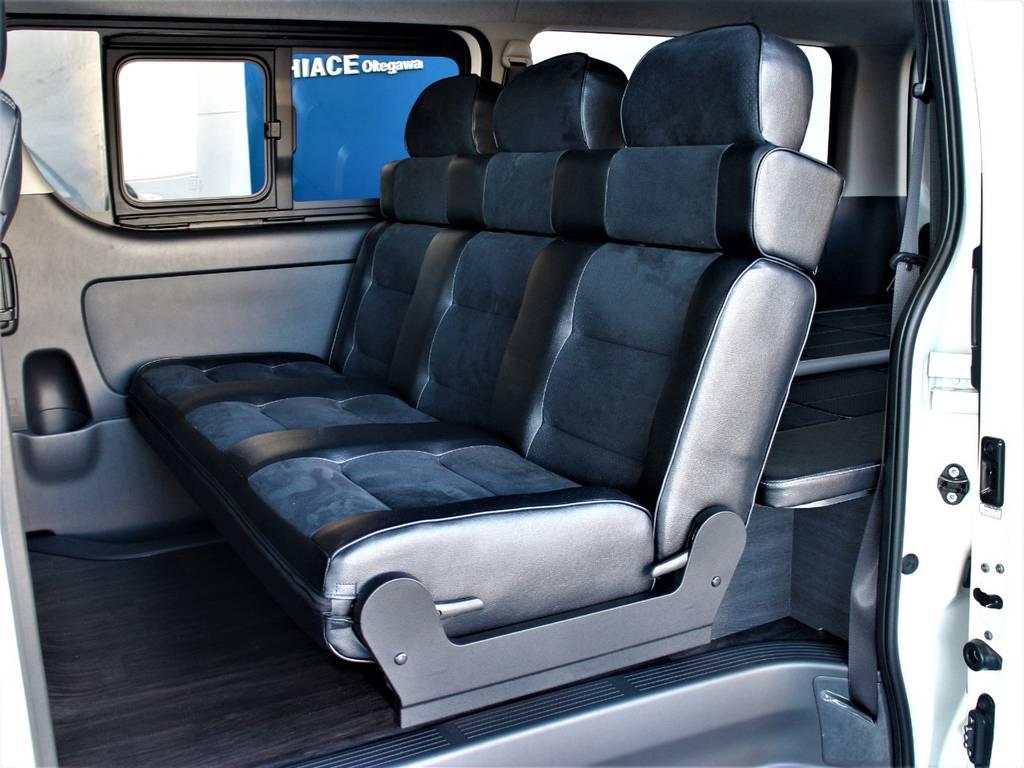 FLEXオリジナルVer.8内装架装車!! | トヨタ ハイエースバン 3.0 スーパーGL ダークプライム ロングボディ ディーゼルターボ 4WD バージョン8内装架装