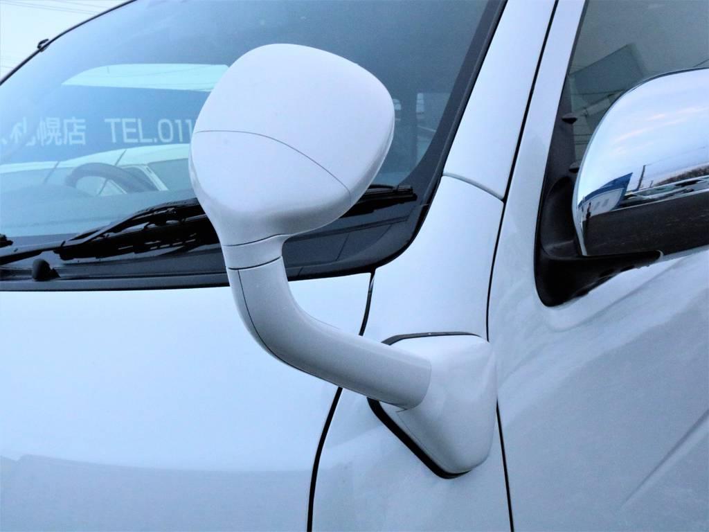 アンダーミラー同色塗装! | トヨタ ハイエースバン 3.0 スーパーGL ダークプライム ロングボディ ディーゼルターボ 4WD バージョン8内装架装