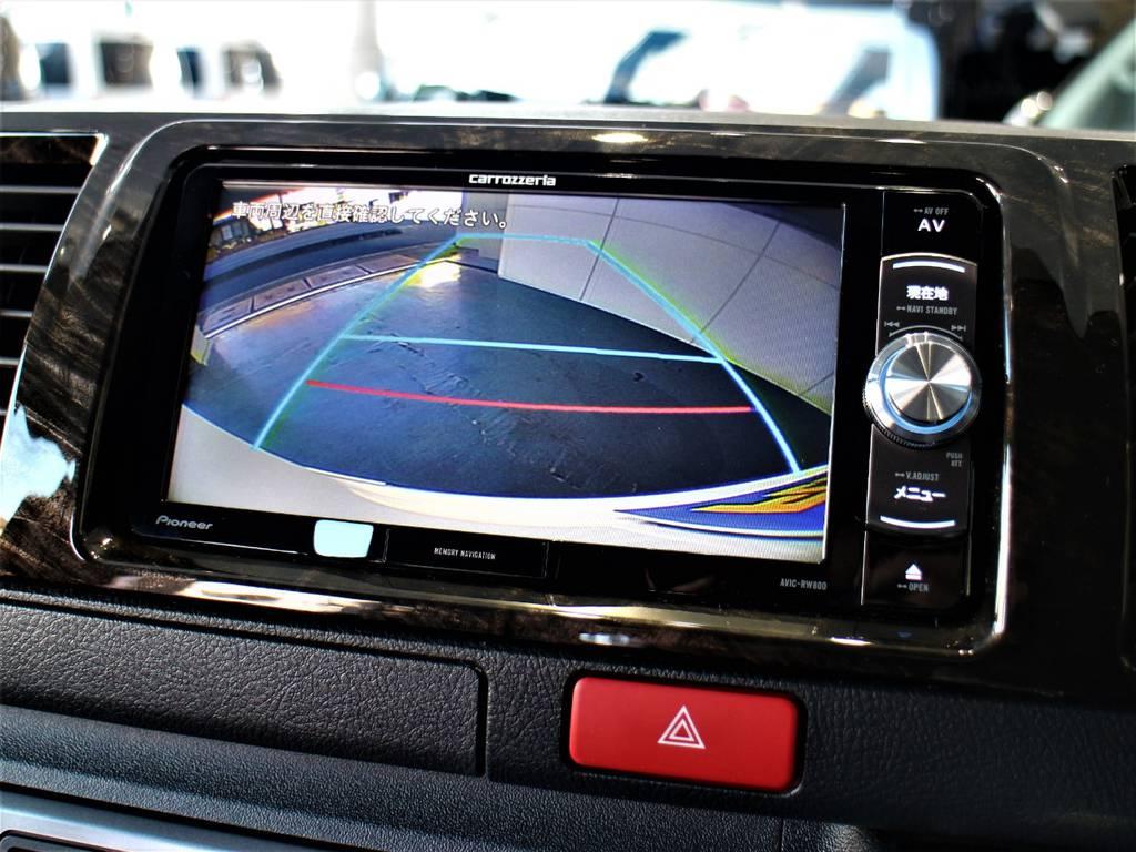 バックモニター連動加工済! | トヨタ ハイエースバン 3.0 スーパーGL ダークプライム ロングボディ ディーゼルターボ 4WD バージョン8内装架装