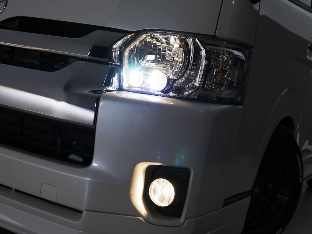 メーカーオプション LEDヘッドライト!
