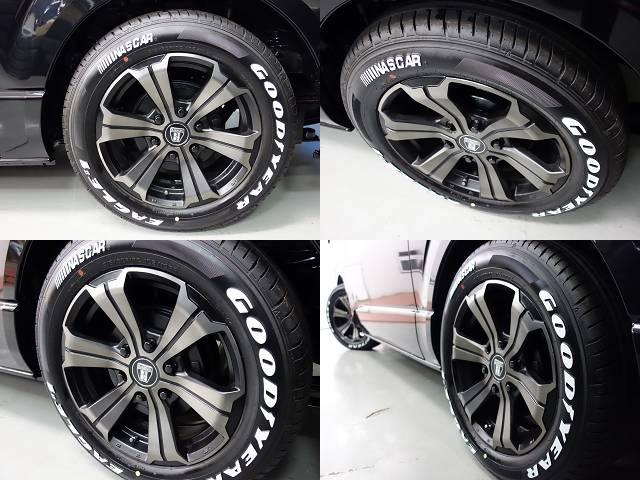 バルベロアーバン17インチアルミ&ナスカータイヤ装備!! | トヨタ ハイエースバン 2.0 スーパーGL ロング ダークP TSS付Ver4D/P
