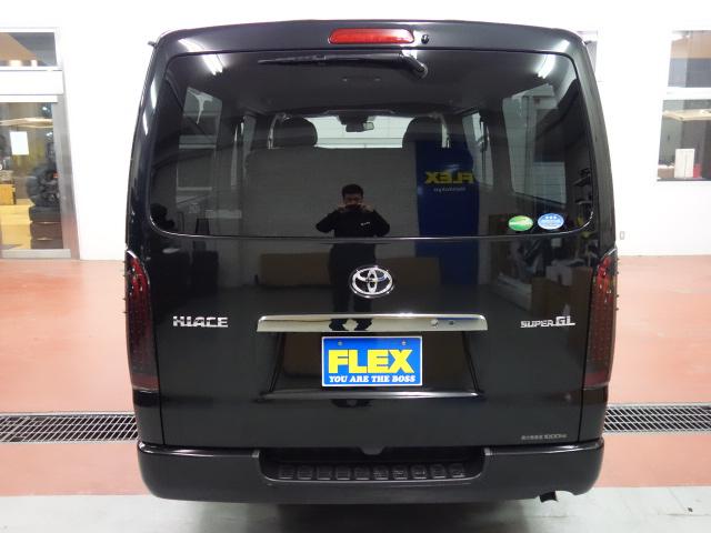 リアビューになります!! | トヨタ ハイエースバン 2.0 スーパーGL ロング ダークP TSS付Ver4D/P