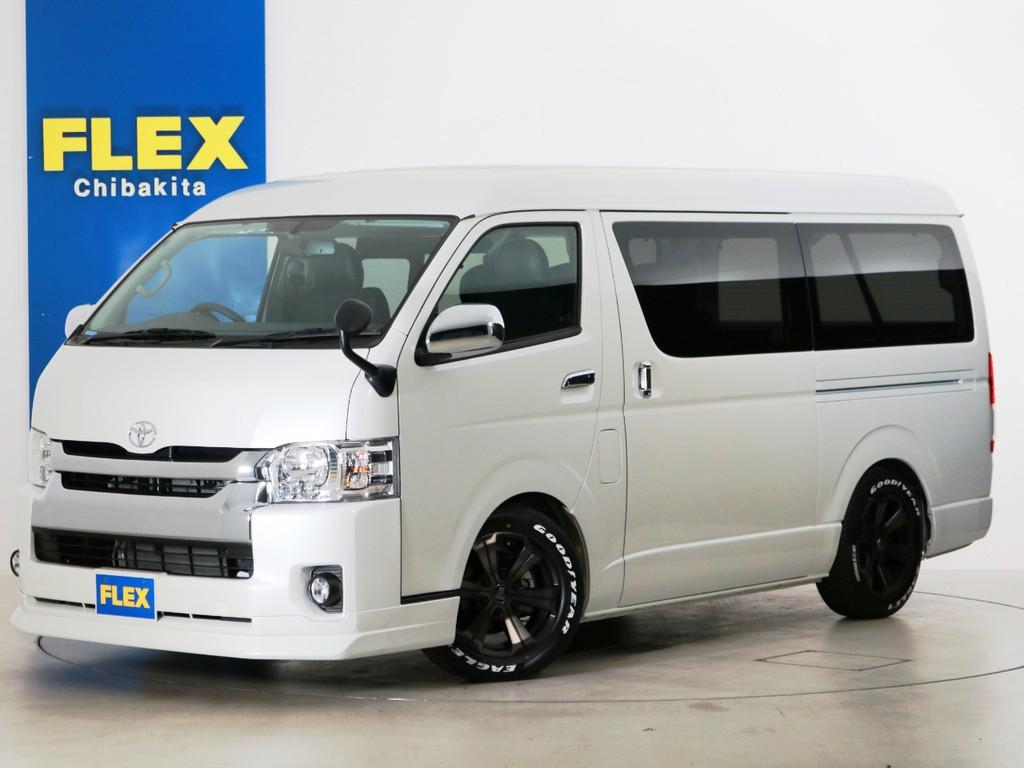 ハイエースワゴンGL ガソリン2WD FLEXライトキャンピング 内装アレンジ【Ver7】!
