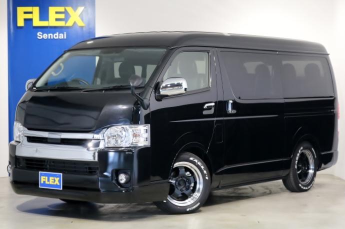 新車 ワゴンGL 4WD 寒冷地仕様 トヨタ・セーフティ・センス搭載!内装架装アレンジ車輌!