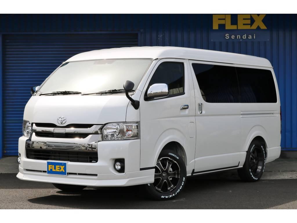 【アレンジFU-Wスライド】新車MC後モデルトヨタセーフティーセンスP付き2700ガソリン4WD寒冷地仕様!