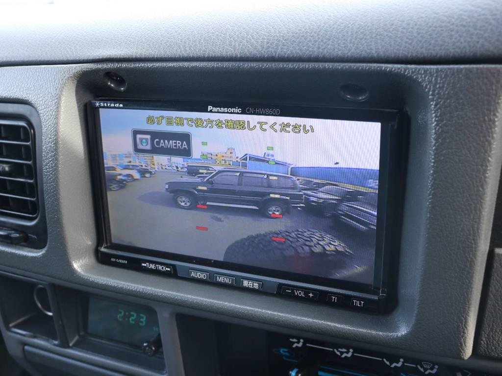 バックカメラも装着済みですので後方安全視界!   トヨタ ランドクルーザープラド 3.0 SX ディーゼルターボ 4WD