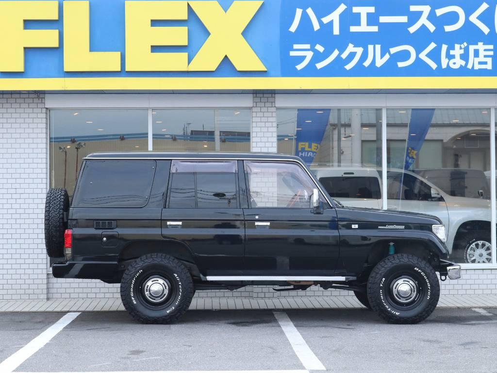 フレックスは全国共有在庫ですので専門知識でお客様にぴったりな1台をご提案致します!つくば店へのご来店お待ちしております!   トヨタ ランドクルーザープラド 3.0 SX ディーゼルターボ 4WD