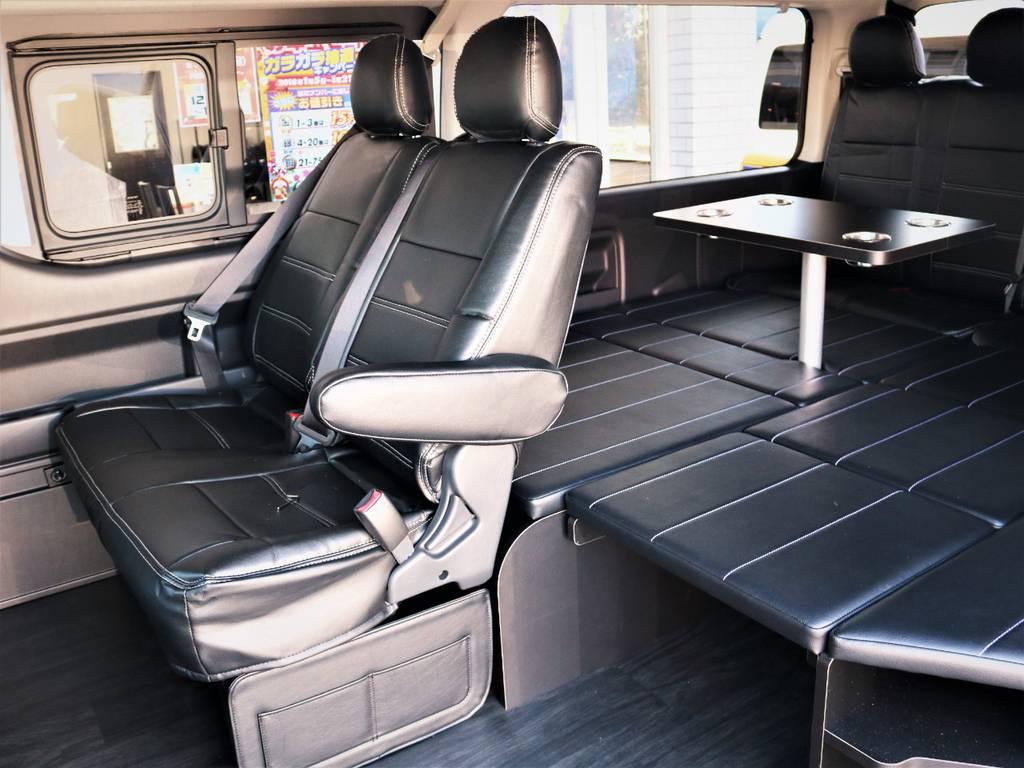 セカンドシート! | トヨタ ハイエース 2.7 GL ロング ミドルルーフ 4WD 内装アレンジR1 新型