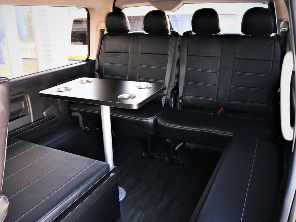 ベッドマットは取り外し可能! | トヨタ ハイエース 2.7 GL ロング ミドルルーフ 4WD 内装アレンジR1 新型