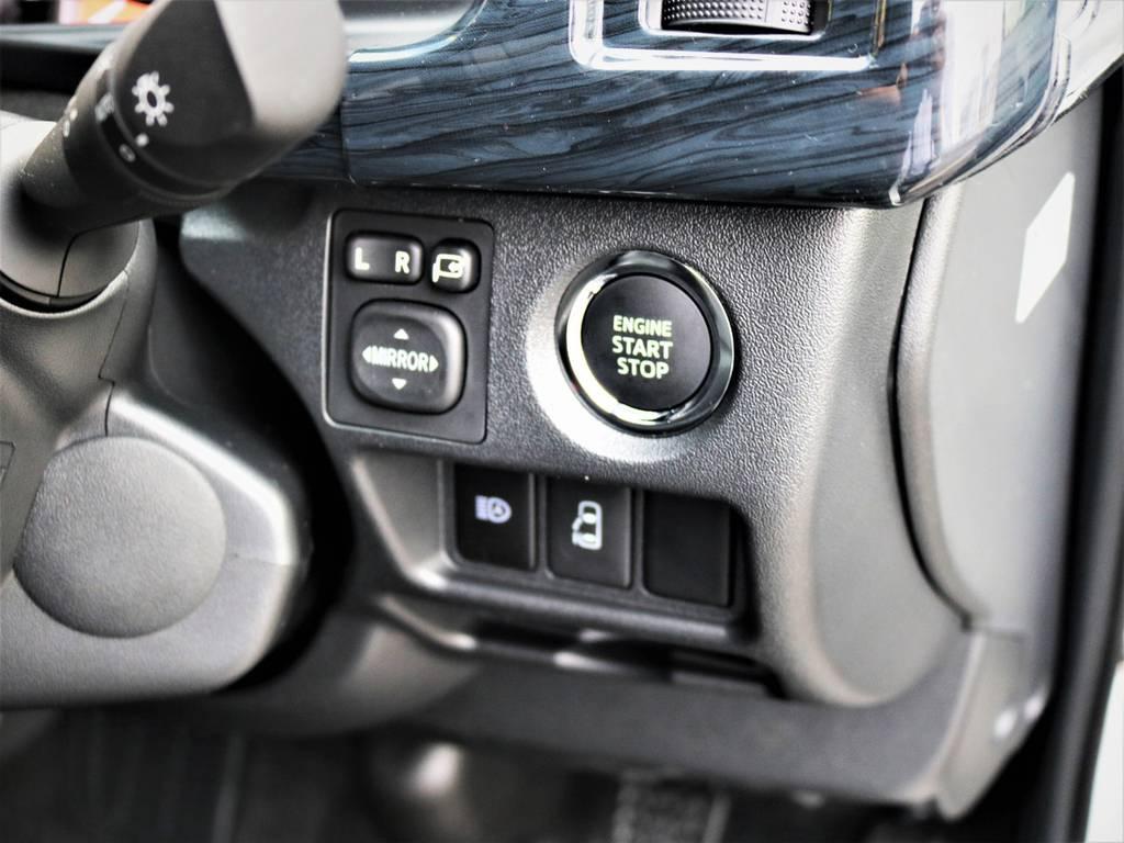 メーカーオプション「プッシュスタート、パワースライドドア」! | トヨタ ハイエース 2.7 GL ロング ミドルルーフ 4WD 内装アレンジR1 新型