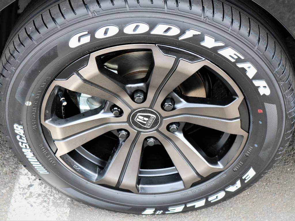バルベロ17インチアルミホイール、ナスカータイヤ! | トヨタ ハイエース 2.7 GL ロング ミドルルーフ 4WD 内装アレンジR1 新型