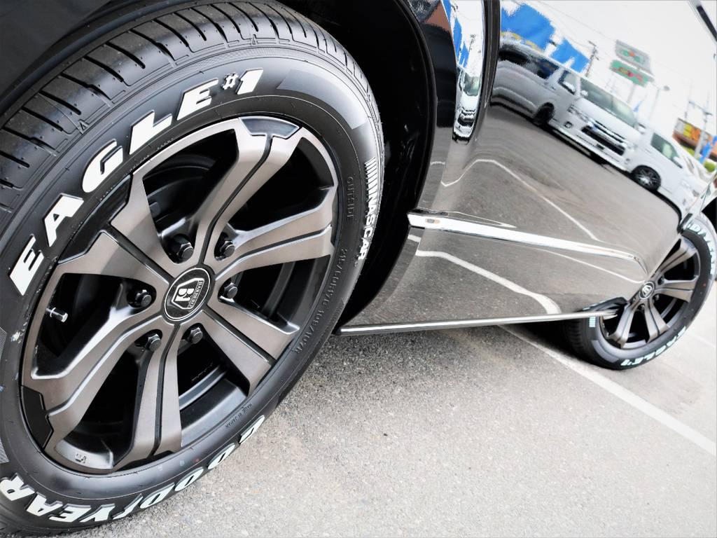 足元バッチリ決まっております! | トヨタ ハイエース 2.7 GL ロング ミドルルーフ 4WD 内装アレンジR1 新型