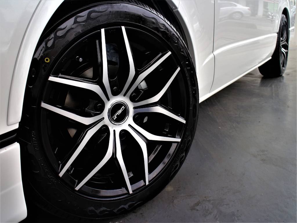 DELF01 18インチアルミホイール! | トヨタ ハイエース 2.7 GL ロング ミドルルーフ 新型 トヨタセーフティーセンス