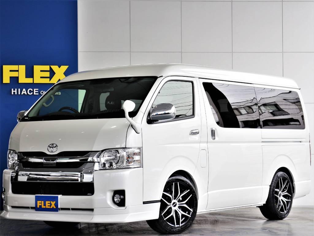 FLEXハイエースさいたま桶川店 お問い合わせはこちらまで 0487799122 | トヨタ ハイエース 2.7 GL ロング ミドルルーフ 新型 トヨタセーフティーセンス
