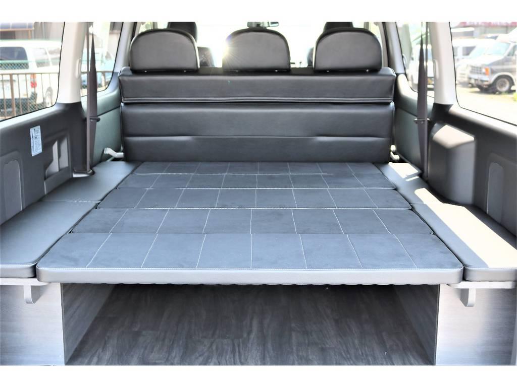 車中泊やアウトドアにピッタリな仕様です!   トヨタ ハイエースバン 2.7 スーパーGL ワイド ロング ミドルルーフ 4WD ダークP TSS Ver.8
