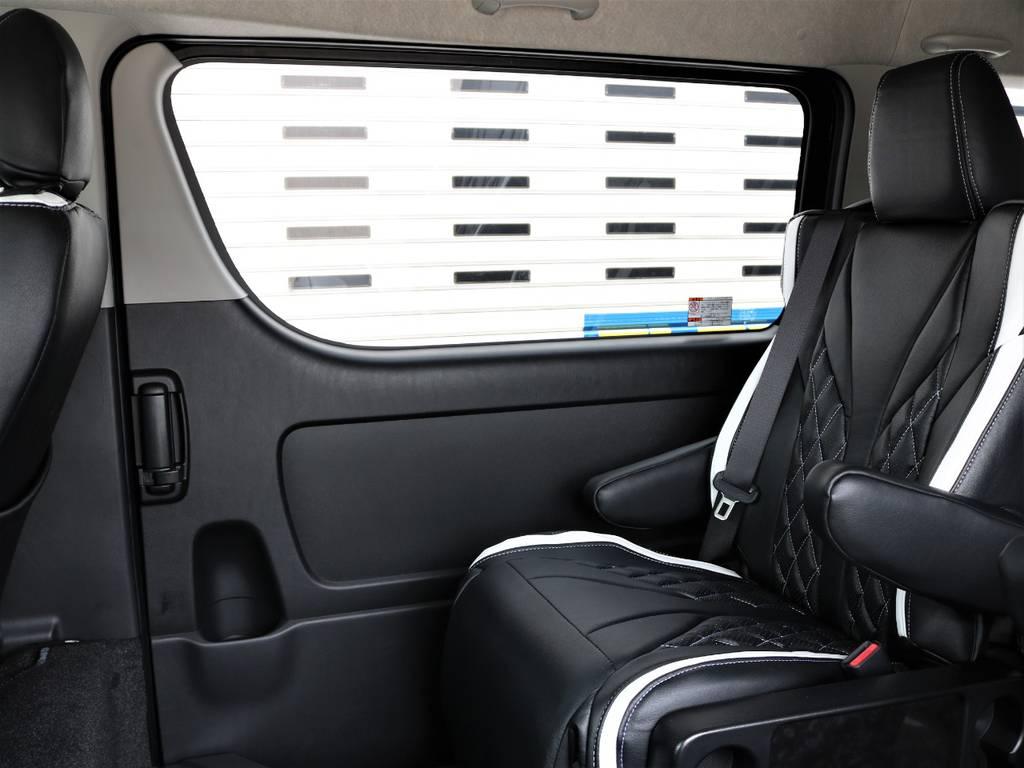 両側パワースライドドアになっております! | トヨタ ハイエース 2.7 GL ロング ミドルルーフ 4WD ファインテックツアラー