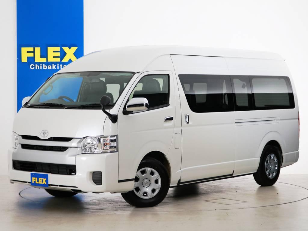 新車未登録 ハイエースコミューター GL FLEXキャンピングカー 【COMCAM】!