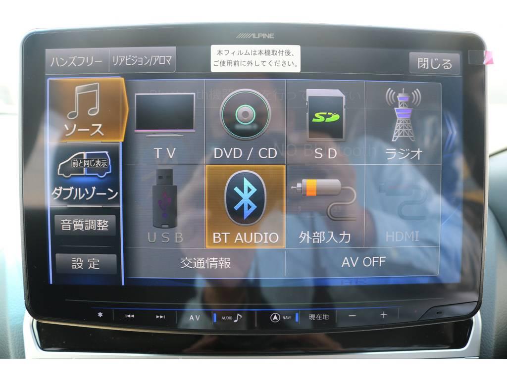 ナビ・ETC・Bカメラ付きです☆オプションでリアエンターも付けれます☆ | トヨタ ランドクルーザープラド 2.7 TX 4WD 5人 新車未登録車