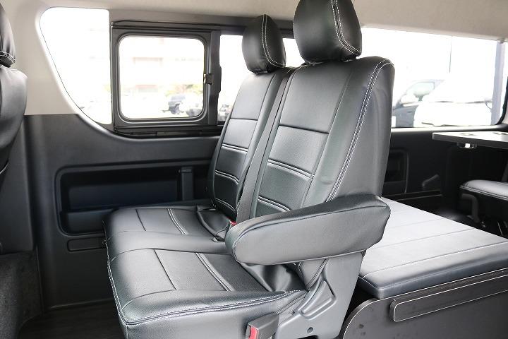 当店人気NO1シートアレンジR1-4WDです。 | トヨタ ハイエース 2.7 GL ロング ミドルルーフ 4WD TSS付 R-1