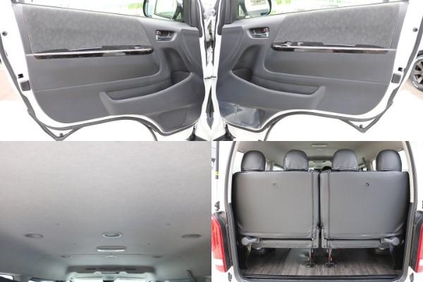 4列目は、跳ね上げ可能シートでラゲージスペースが確保できます。 | トヨタ ハイエース 2.7 GL ロング ミドルルーフ 4WD TSS付 R-1